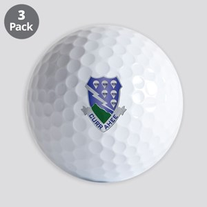DUI - 2nd Bn - 506th Infantry Regiment Golf Balls