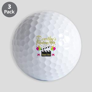 CUSTOM 90TH Golf Balls