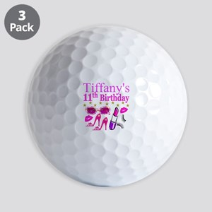 PERSONALIZED 11TH Golf Balls