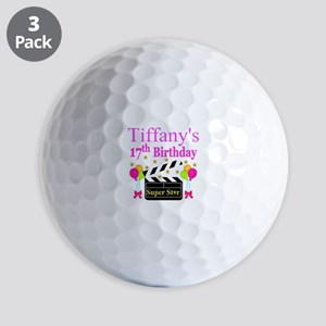 PERSONALIZED 17TH Golf Balls