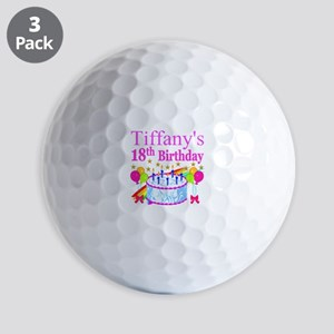 PERSONALIZED 18TH Golf Balls