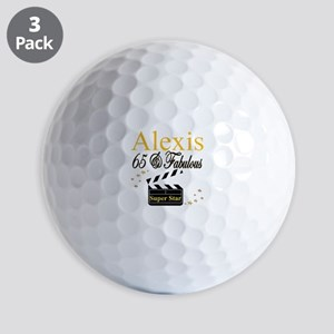 65 YEARS OLD Golf Balls