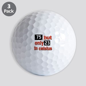 75 year old designs Golf Balls