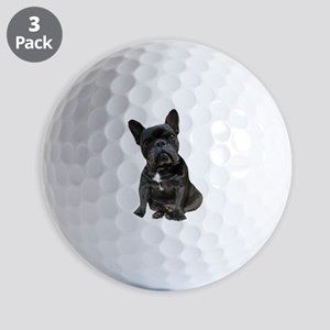 French Bulldog Puppy Portrait Golf Balls