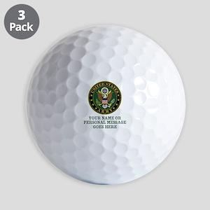 CUSTOM TEXT U.S. Army Golf Balls