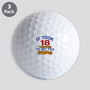 It Took 18 Years To Get This Swag Golf Balls