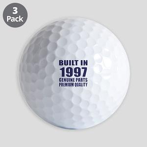 Built In 1997 Golf Balls