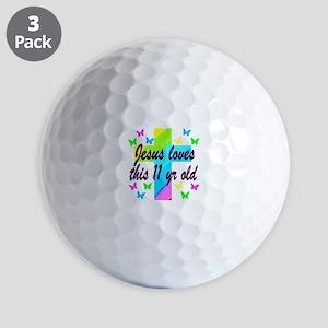 CHRISTIAN 11TH Golf Balls
