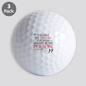 You Are My Person Golf Balls
