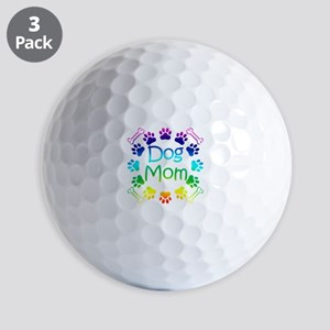 """Dog Mom"" Golf Balls"