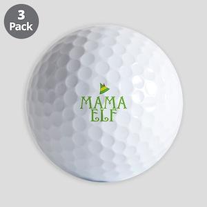 Mama Elf Golf Balls