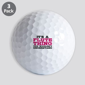 It's a Flute Thing Golf Balls