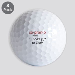 Soprano Definition Golf Balls