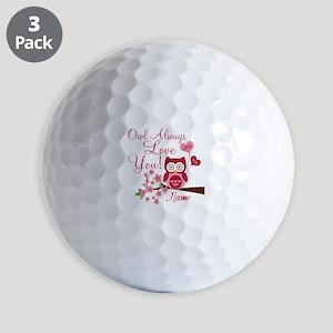 Owl Always Love You Golf Balls