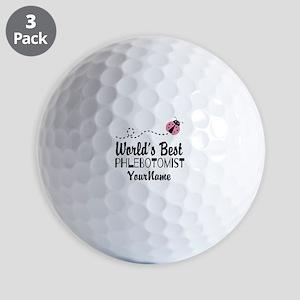World's Best Phlebotomist Golf Balls