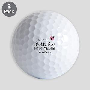 World's Best Massage Therapist Golf Balls