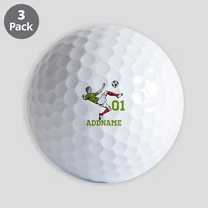 Customizable Soccer Golf Balls