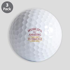 85th. Birthday Golf Balls