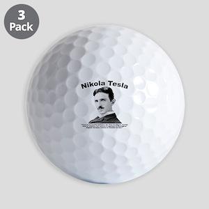 Tesla: Religion Golf Balls