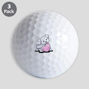 Heart & Soul Puppy Golf Balls