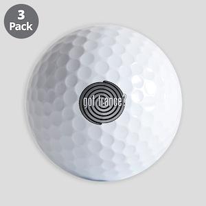 got trance? (spiral) Golf Balls