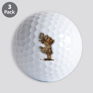 antique easter Golf Balls