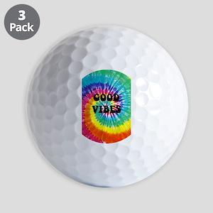 Good Vibes Golf Balls