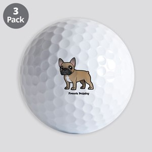 french bulldog Golf Balls