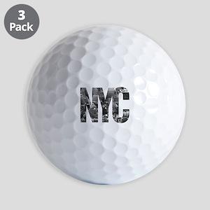 NYC Golf Balls