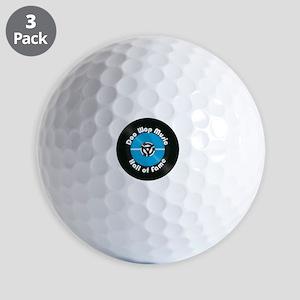Doo Wop Music Hall of Fame Golf Balls