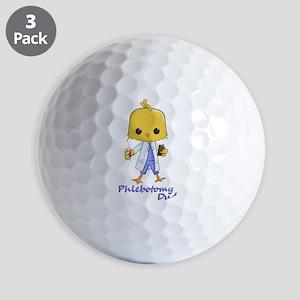 Phlebotomy Dude Golf Ball