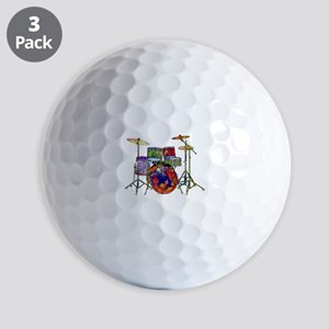 Wild Drums Golf Balls