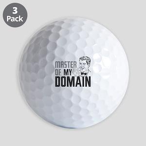 Master of My Domain Golf Balls