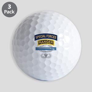 SF Ranger CIB Airborne Golf Balls
