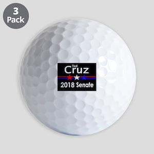 Ted Cruz Senate 2018 Golf Balls
