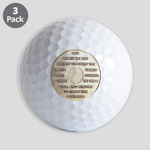 COIN SERENITY Golf Balls
