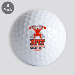crossfit cross fit champion lifter light Golf Ball
