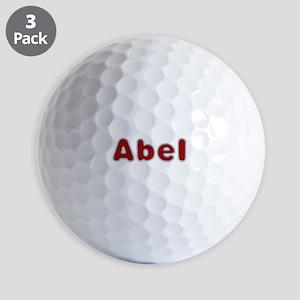 Abel Santa Fur Golf Balls