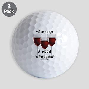 At my age I need glasses! Golf Balls