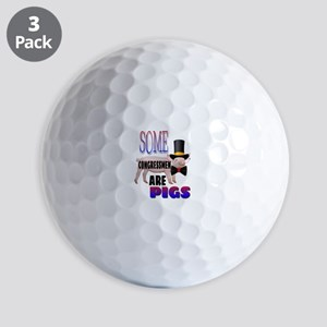Some Congressmen Are PIgs Golf Balls