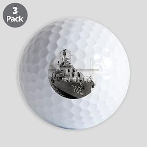 hank framed panel print Golf Balls