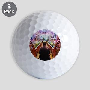 Frank in Wonderland Golf Balls