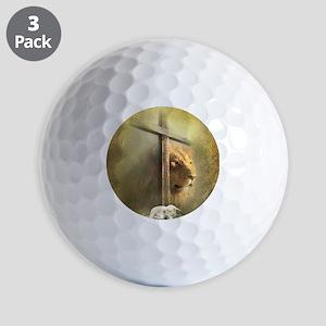 Lion of Judah, Lamb of God Golf Balls