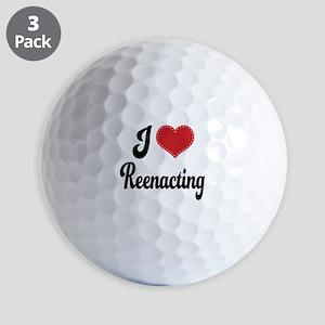 I Love Reenacting Golf Balls