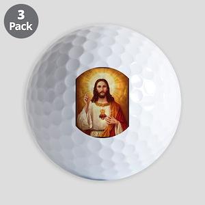 Sacred Heart of Jesus Golf Balls
