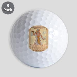 Vintage poster - Egypt Golf Balls