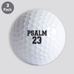 Psalm 23 Bible Verse Golf Balls