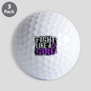 Licensed Fight Like a Girl 31.8 Chiari Golf Balls