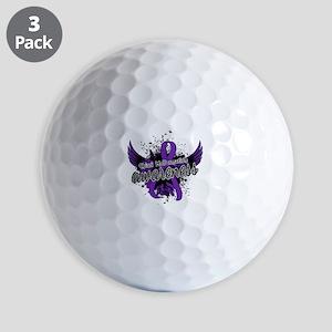 Chiari Awareness 16 Golf Balls