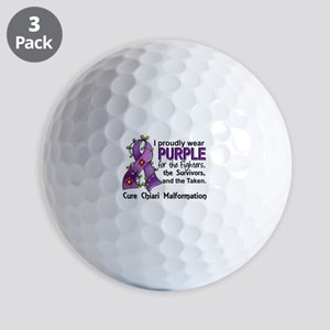 For Fighters Survivors Taken Chiari Golf Balls